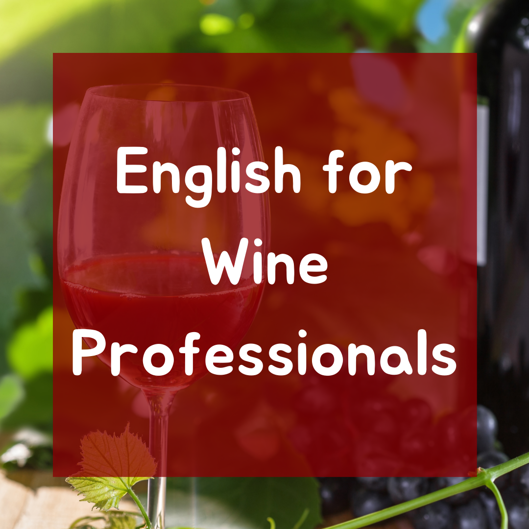 English for Wine Professionals